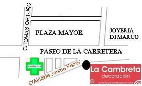 plano de la ubicacion
