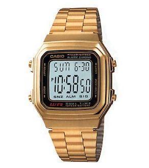 Reloj Casio dorado A178wga