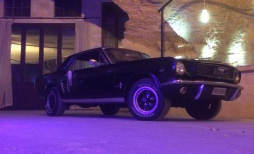 FORD MUSTANG COUPE DEL AÑO 66