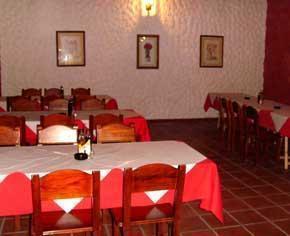 foto del reservado para 50 personas del Restaurante Cueva el Campesino