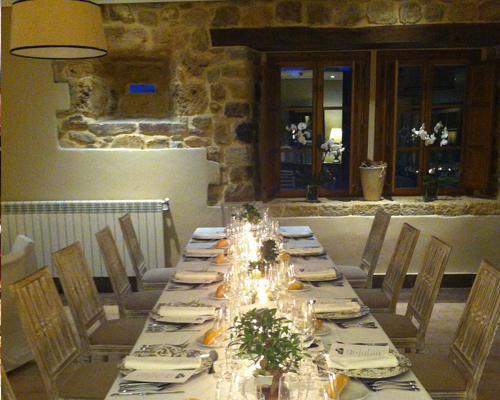 Banquetes en el interior
