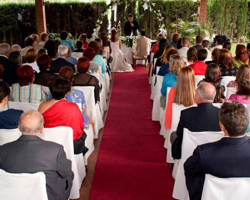Posibilidad de celebrar la ceremonia civil