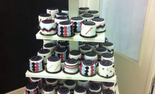 pasteles de boda individuales