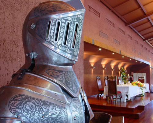 Interior salón de bodas en asturias