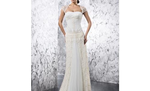 Vestidos de novia que resaltan la figura