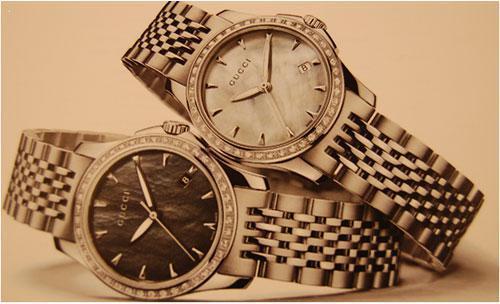 Relojes para señora y caballero gucci
