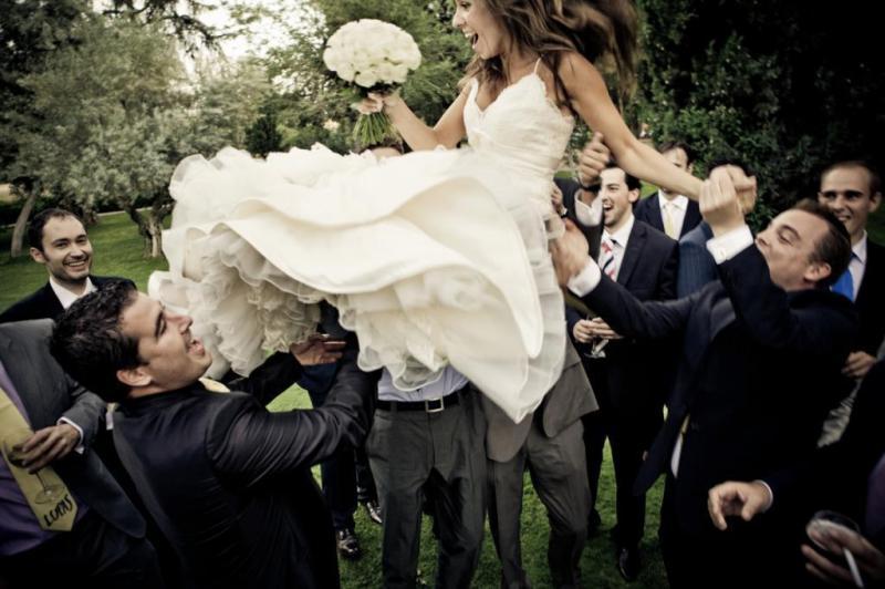 Fotografia de boda natural