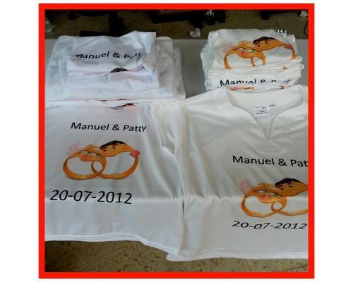 Camisetas para bodas
