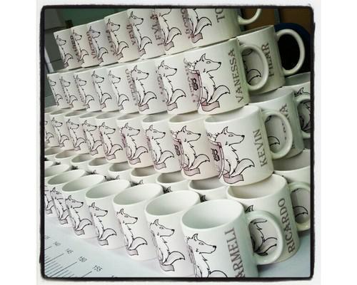 Mugs para bodas