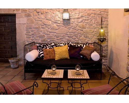 Un acogedor espacio en el hotel convento san roque