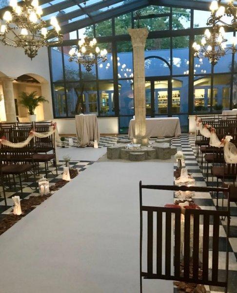 Ceremonia Boda Otoñal. Decoración de bodas.