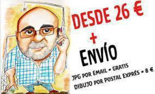Caricaturas Personalizadas en Barcelona