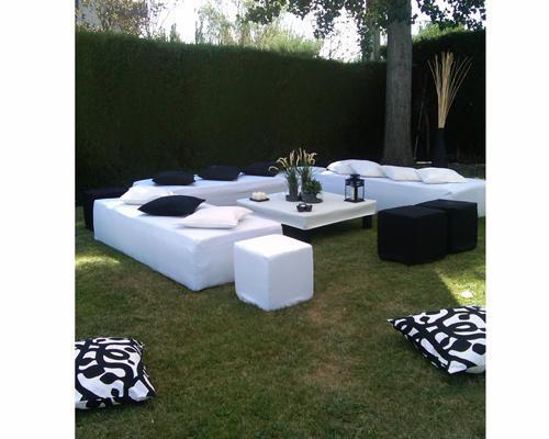 Chill out en el jardín