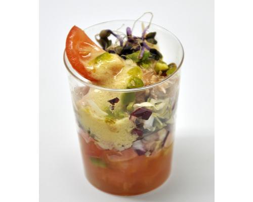 Micro de ensalada de perdiz escabechada (1)