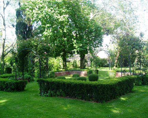 Magníficos jardines