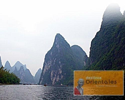 Crucero por el rio li jiang