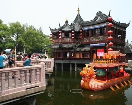 Jardin yuyuan en shangai