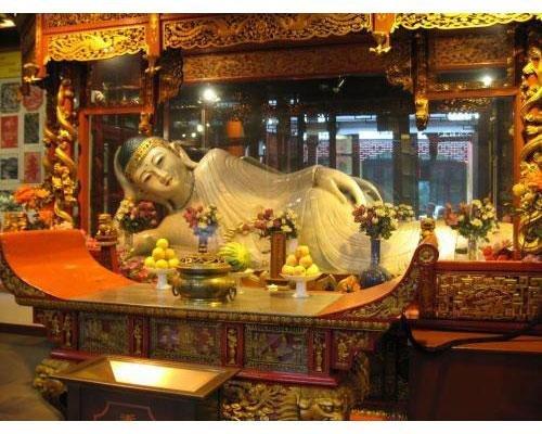 Templo buda jade en shangai