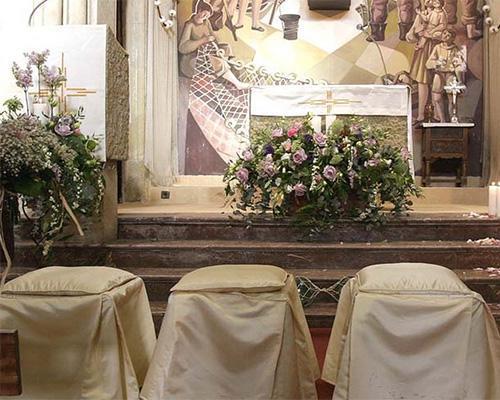Decoracion del altar