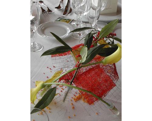 Flores para vuestro banquete