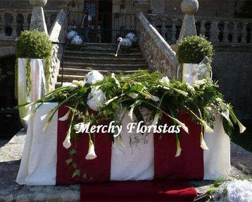 Flores para mesa ceremonia